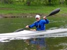 Paddling on the Winooski River, Vermont 5/24/08
